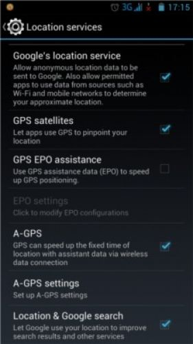 Android GPS works without Internet
