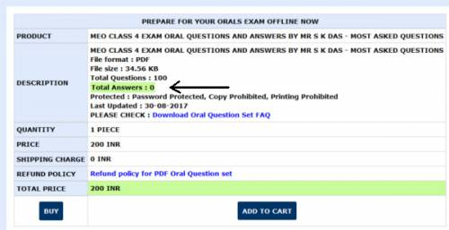 PDF Oral Question Set Answers count