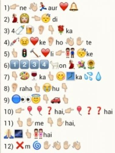 Whatsapp Quiz 12 new songs
